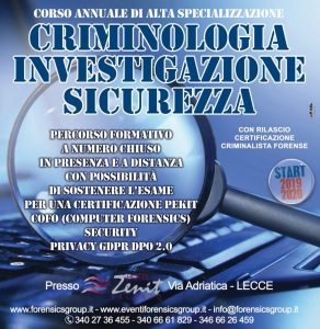 corso forensic